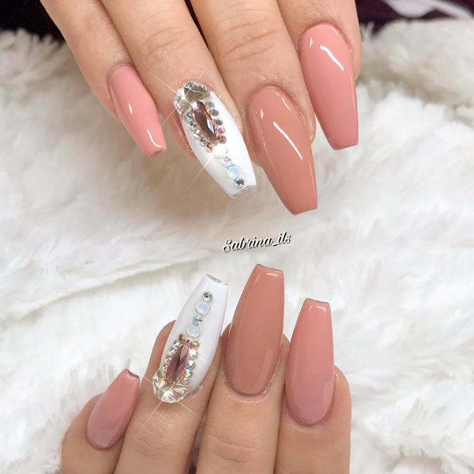 Trendy Nude Ideas for Nails picture 1