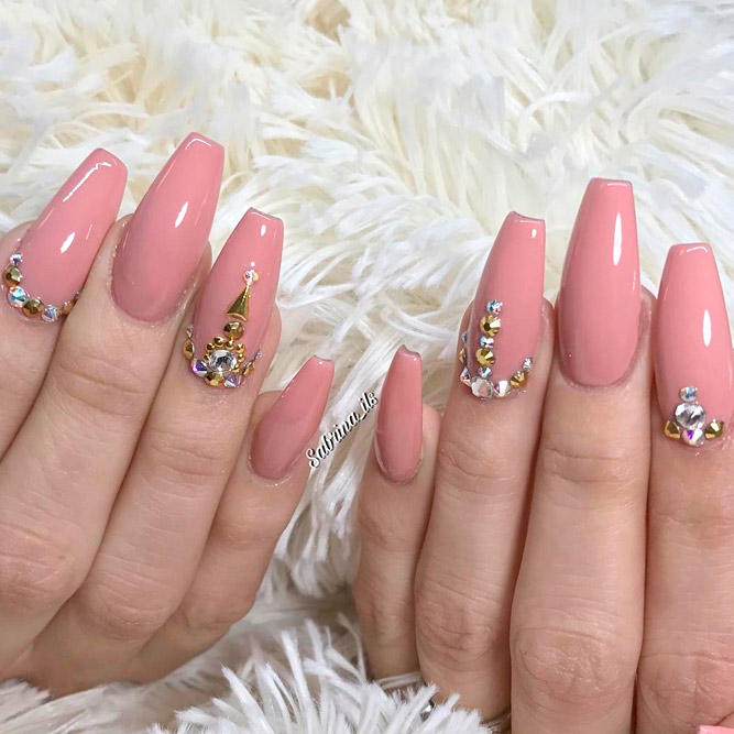 Trendy Nude Ideas for Nails picture 2