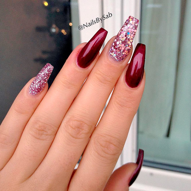 Lovely Designs for Coffin Nails picture 1