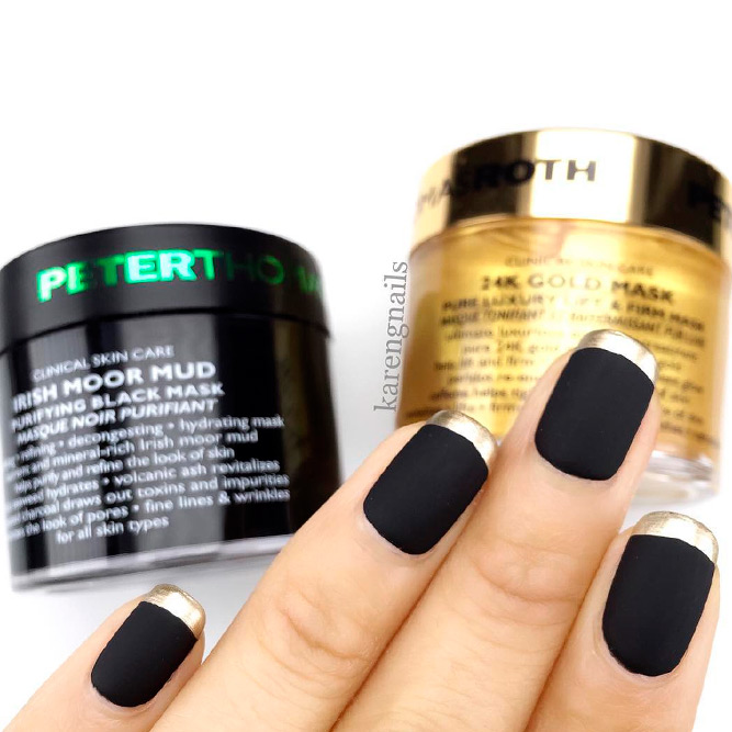 Best Black Matte Nail Polish Colors picture 1