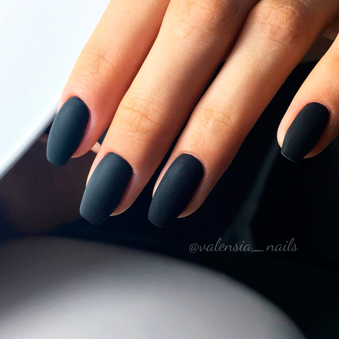 Best Black Matte Nail Polish Colors picture 3
