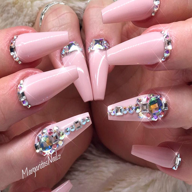 Pink Coffin Nails picture 1