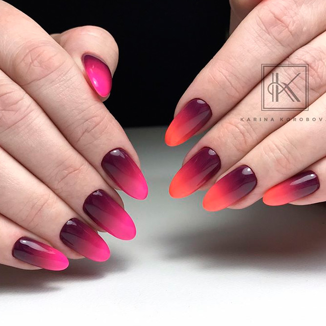 30 awesome ombre nail designs naildesignsjournal bright ombre nail ideas picture 1 prinsesfo Image collections