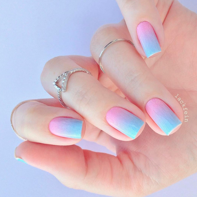 Cute Gradient Nail Designs for Summer Time picture 2