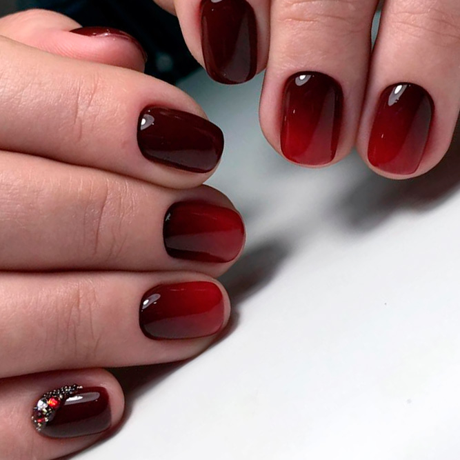 Stunning Burgundy Gradient Ideas picture 2