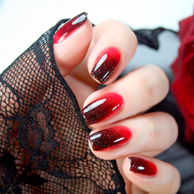 Stunning Burgundy Gradient Ideas picture 3