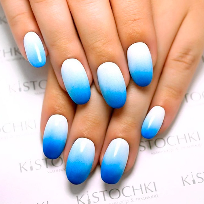 Trendy Blue Shades for Ombre Nails picture 3