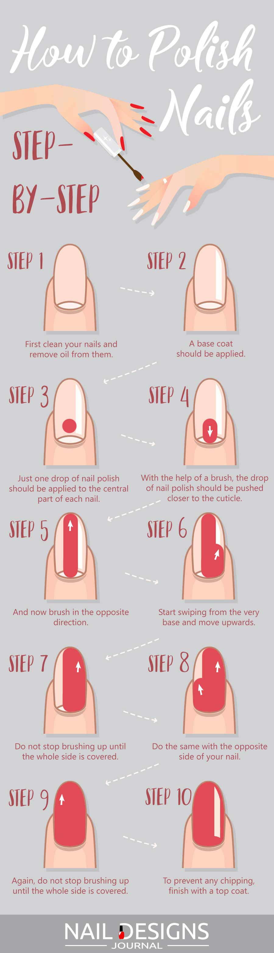 Info How to Polish Nails