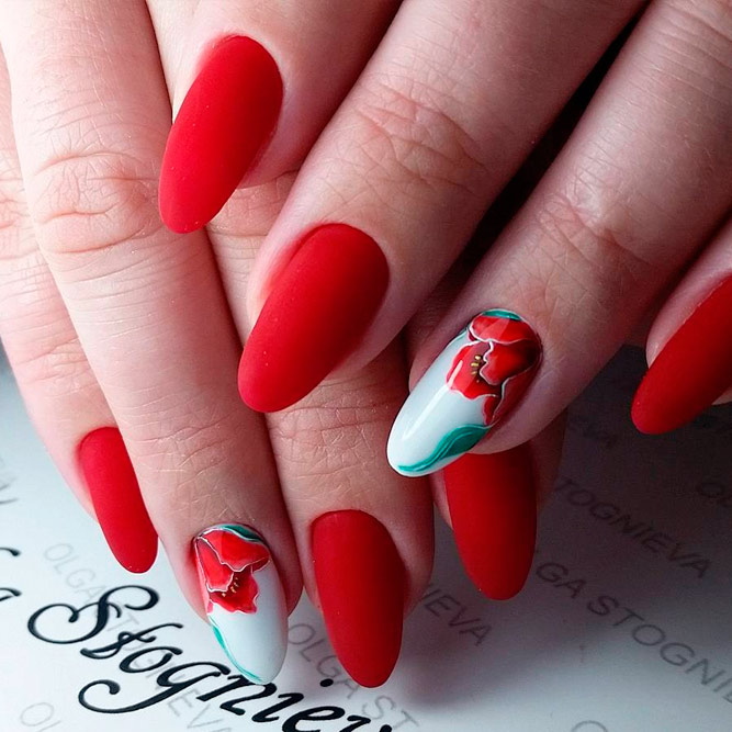 Lovely Nail Art for Almond Nails picture 2
