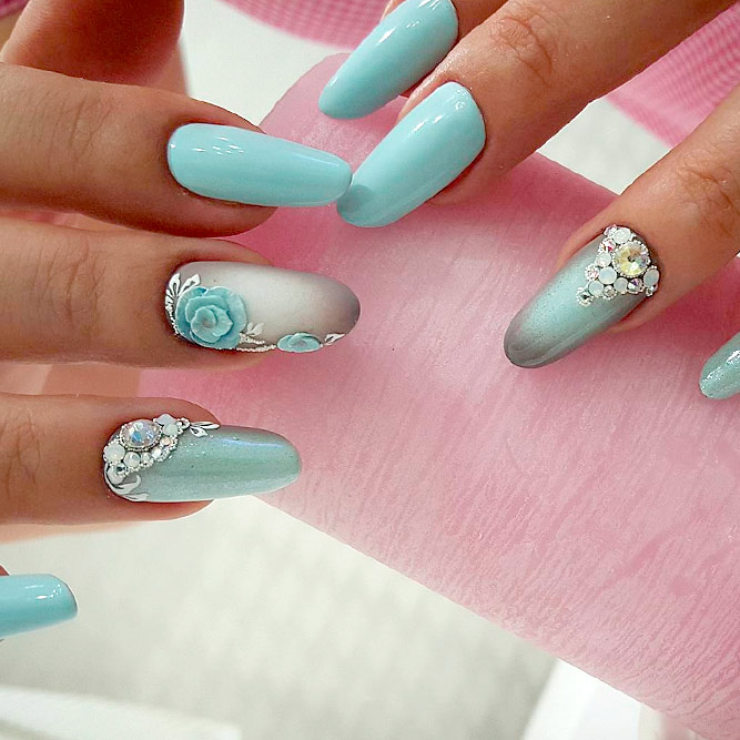 Lovely Nail Art for Almond Nails picture 3