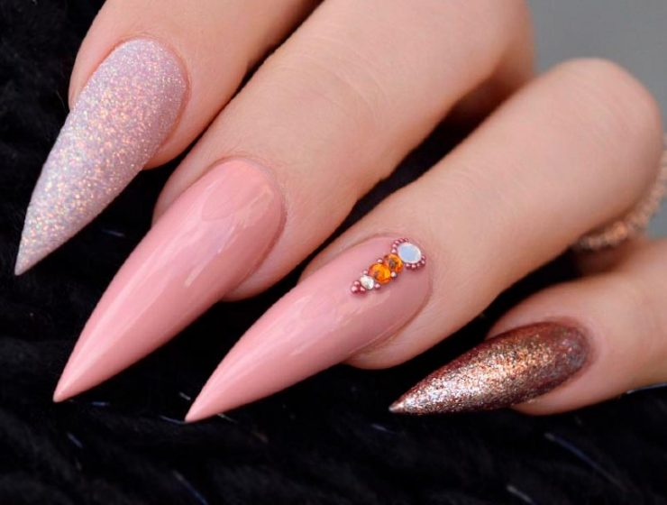 45 Best Long Nail Designs for Glamorous Girls - Long Nails Archives Page 5 Of 6 Nail Designs