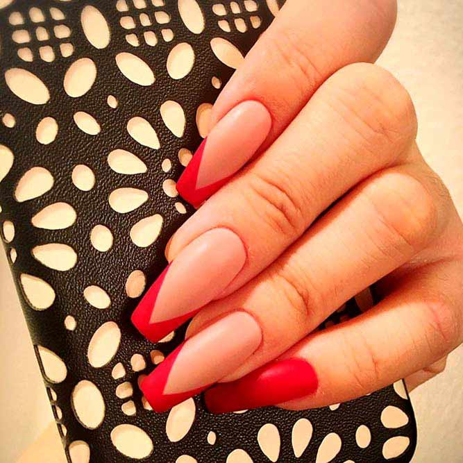 French Manicure For Chic Look picture 2