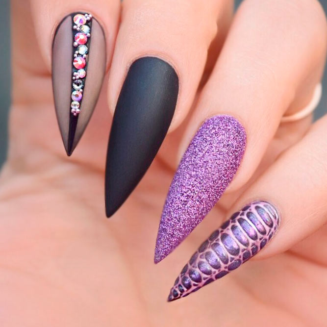Nail Designs for Long Stiletto Nails picture 3