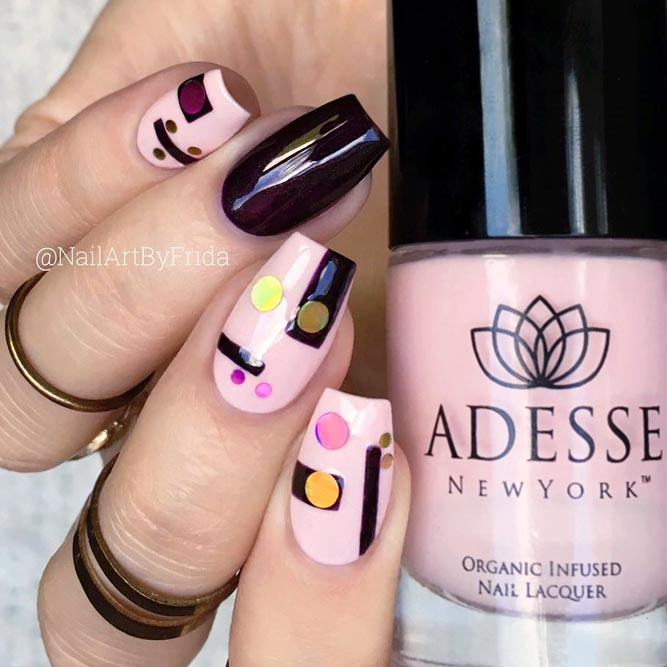 Geometric Nail Design For Stylish Geeks picture 3