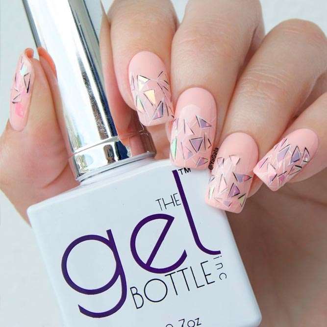 Long Square Nail Art picture 3