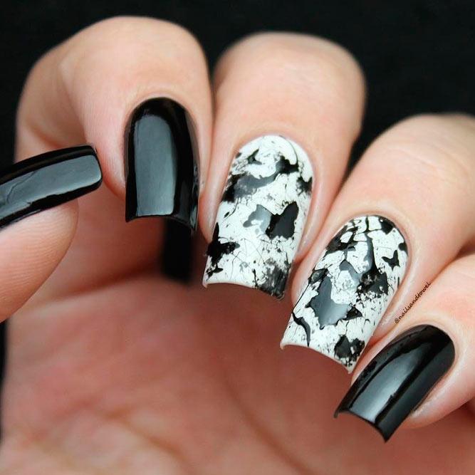 Beautiful Black And White Nail Designs Naildesignsjournal