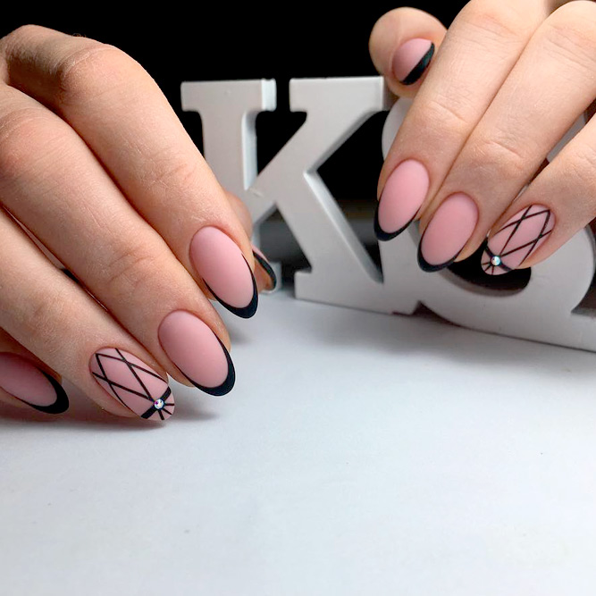Fantastic black french manicure to try naildesignsjournal super cute french nail designs picture 1 prinsesfo Gallery