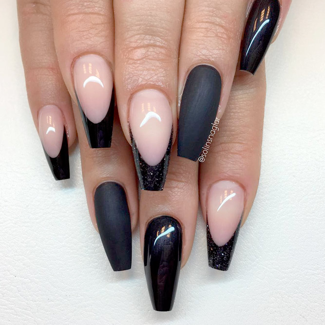 Ideas for Beautiful Black Mani picture 1