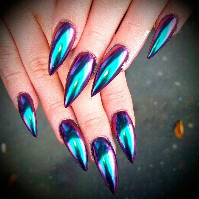Glam Chrome Nails for Your Perfect Look picture 3