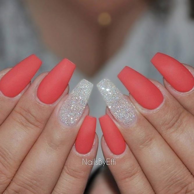 Wonderful Coral Nail Art Designs picture 2