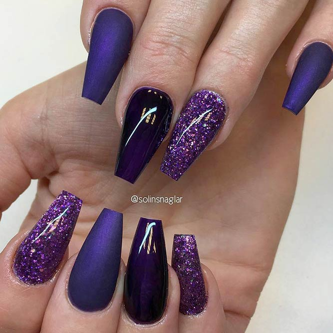 Try Cool Сoffin Shape Nails | NailDesignsJournal.com