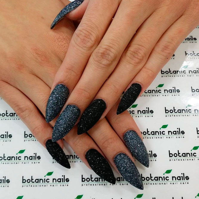 Cool Ideas for Black Gel Manicure picture 1