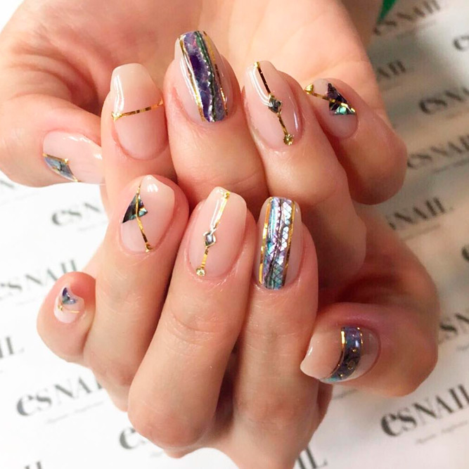 Nude Design for Gel Nail Polish picture 1