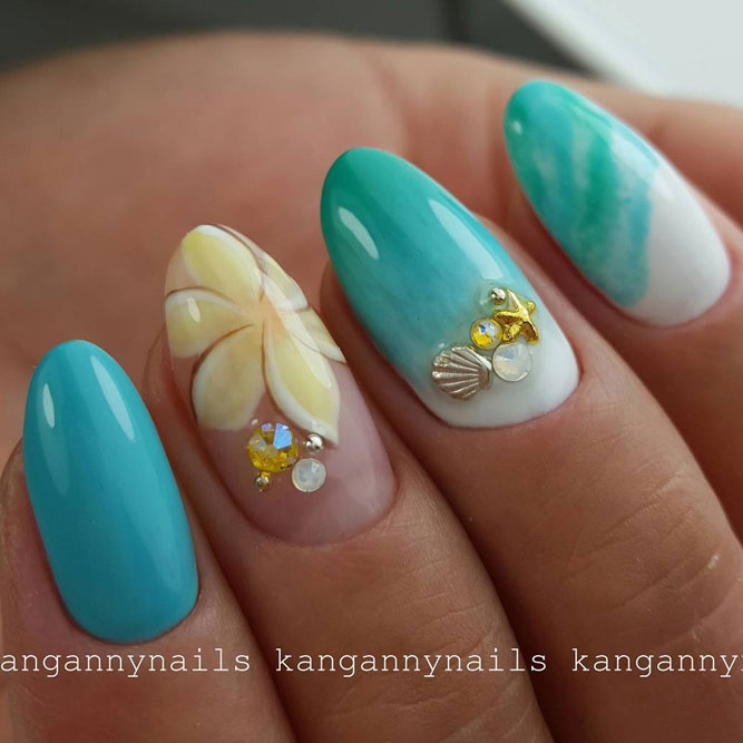 Beach Nail Art for Summer Time picture 2