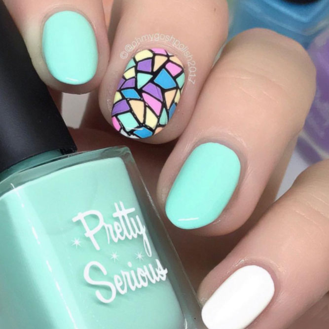 Mint Green Nail Color is a Summer Must-Have picture 3