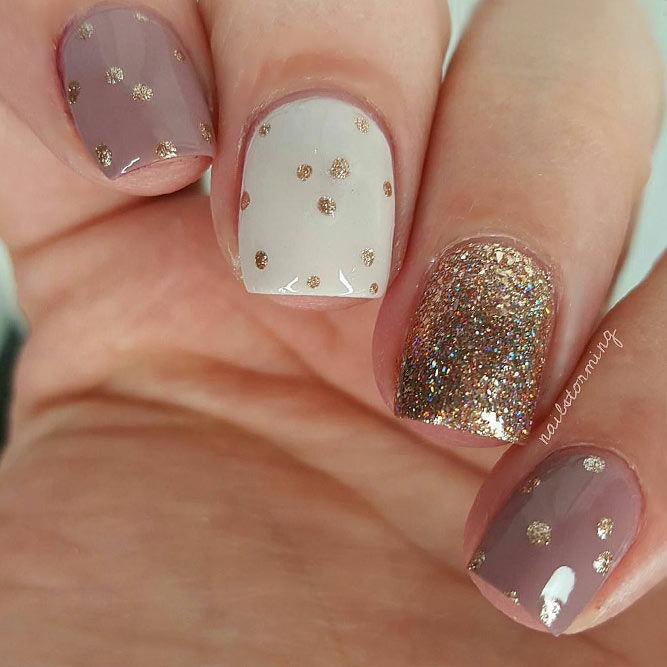 Gold Nail Designs You Will Love picture 1