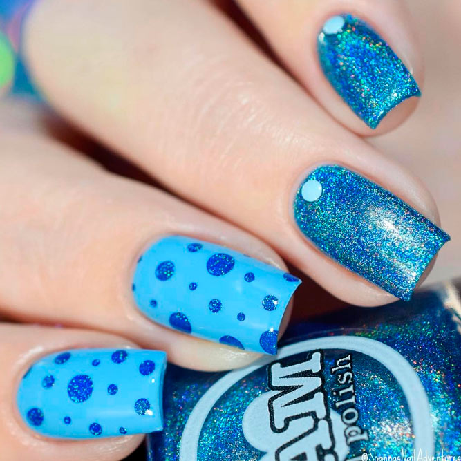 Bright Blue Nails to Wear This Summer picture 1