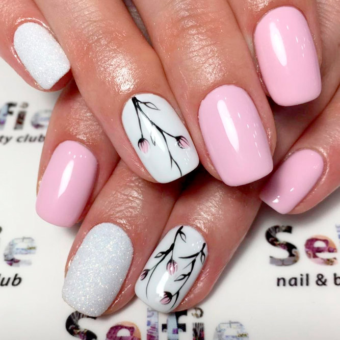 Always Trendy Pink Nail Designs picture 2