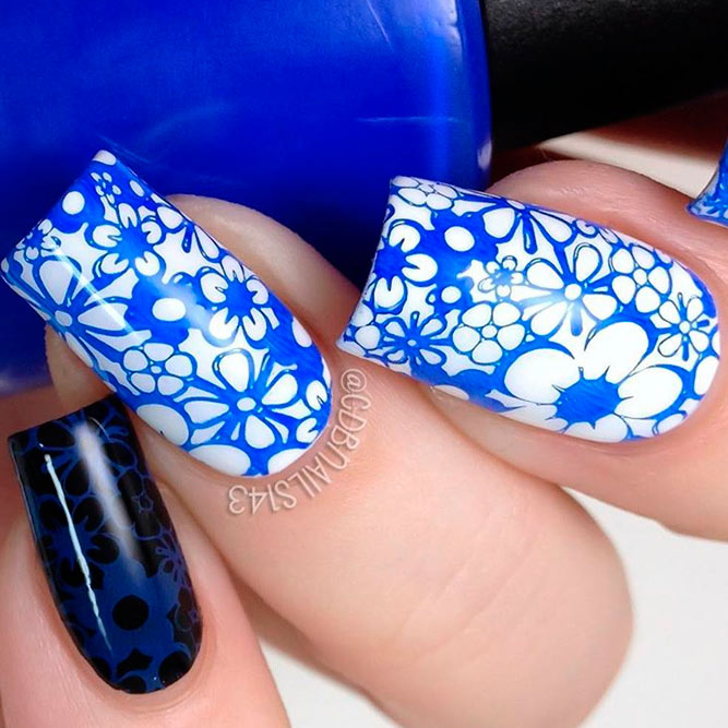 Bright Blue Nails to Wear This Summer picture 2