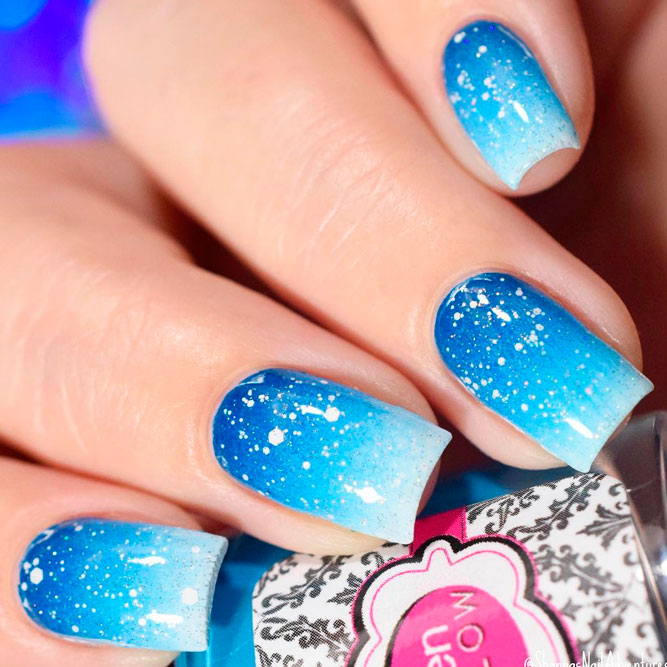 Bright Blue Nails to Wear This Summer picture 3