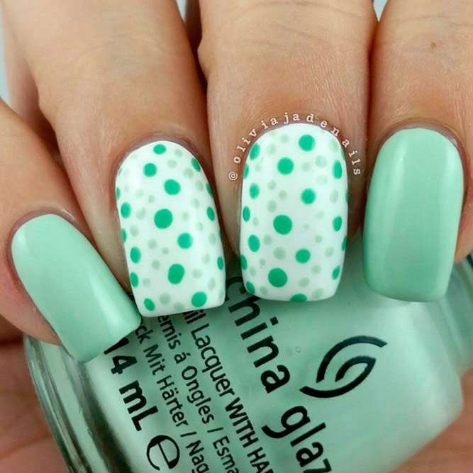 Mint Green Nail Color is a Summer Must Have picture 1