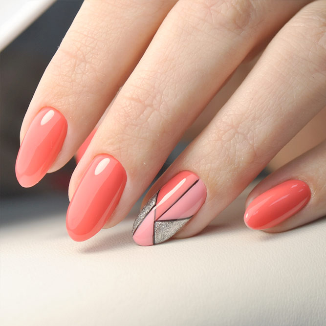 Coral Designs for Eye-catching Nails picture 1