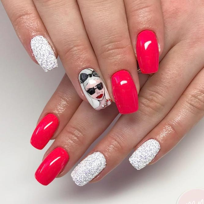 Coral Designs for Eye-catching Nails picture 3