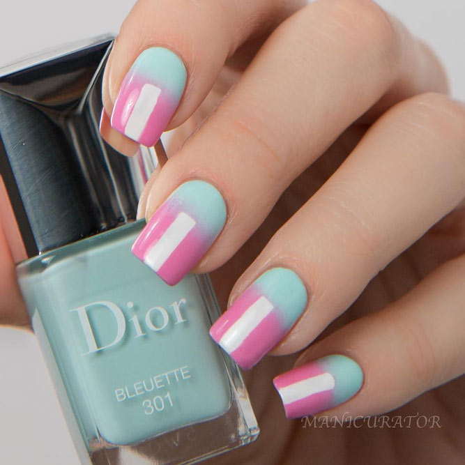 Pastel Nail Colors for Romantic Evening picture 2