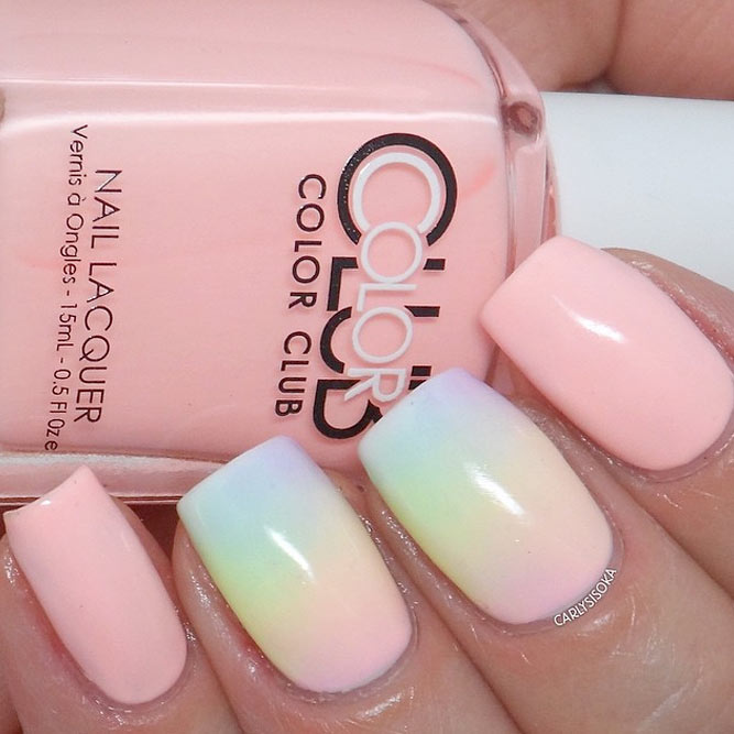 Pastel Nail Colors for Romantic Evening picture 1