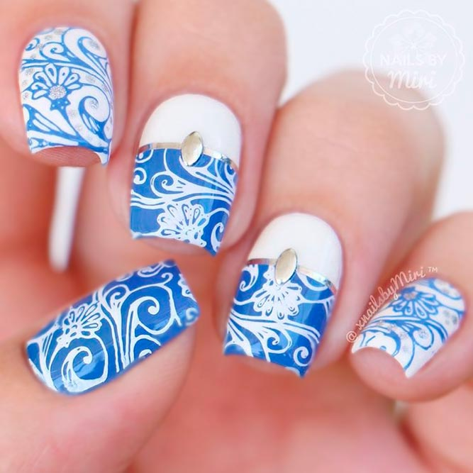 Best Blue Nail Art picture 1