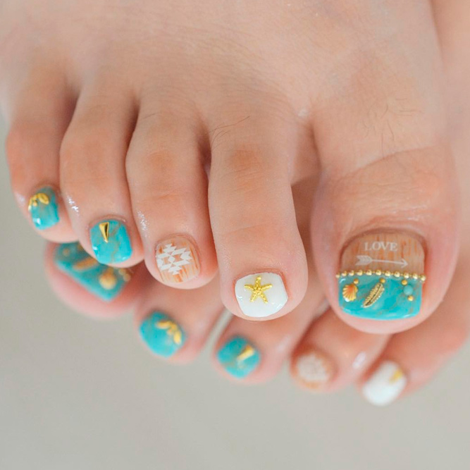 Fabulous toe nails designs to try naildesignsjournal cute toenail designs for summer picture 1 prinsesfo Gallery