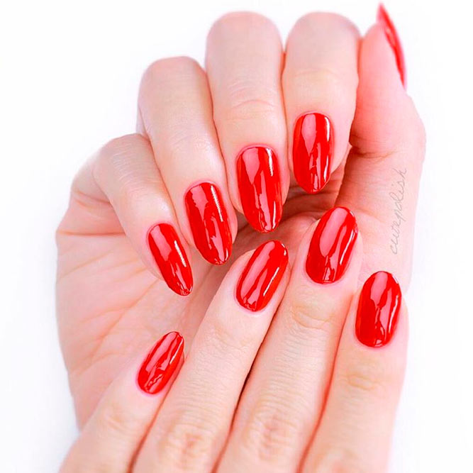 Beautiful Oval Nails Designs picture 1