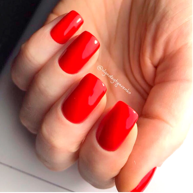 Red Acrylic Nail Designs picture 3