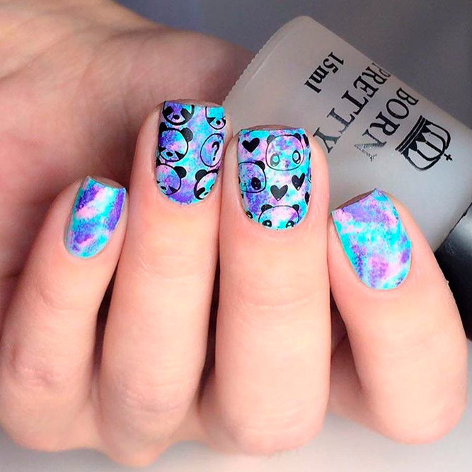 Summer Season Art Designs for Short Nails picture 1