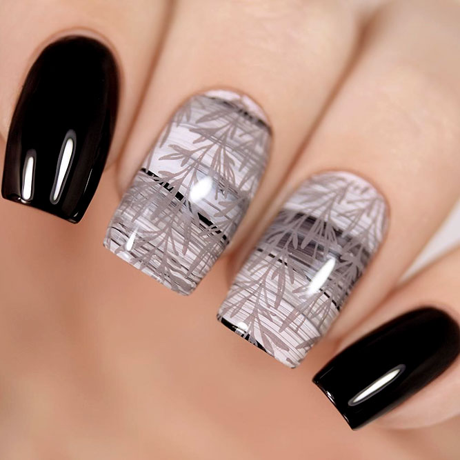 Classic Black With Grey Stamping