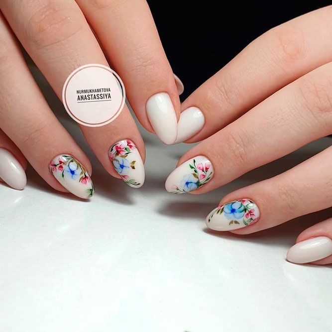 Fabulous Floral Accents With Matte Accent