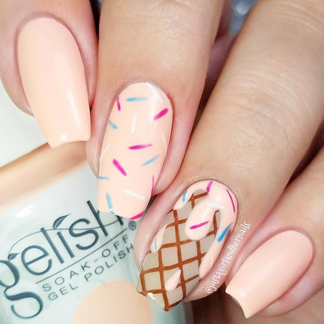 Delicious Ice Cream Summer Nails picture 2