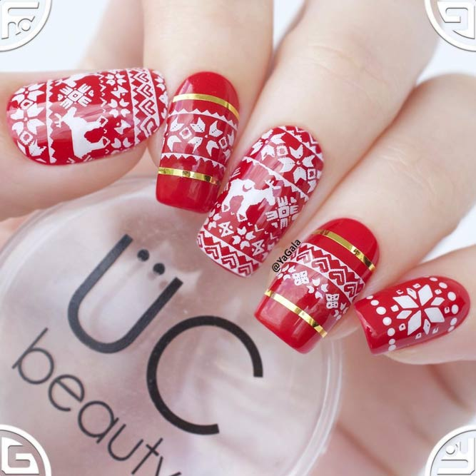 Cute Sweater Nail Print picture 1