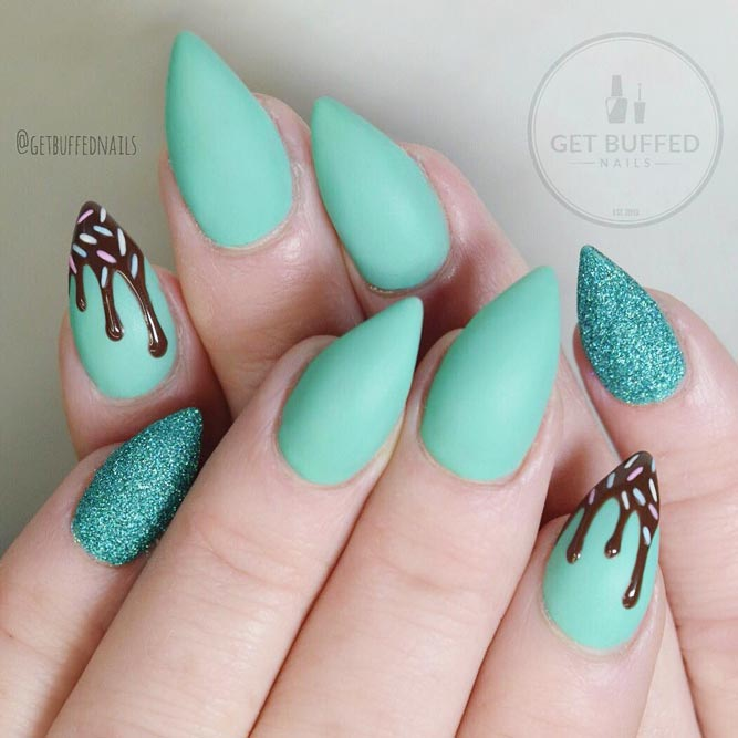 Delicious Ice Cream Summer Nails picture 1