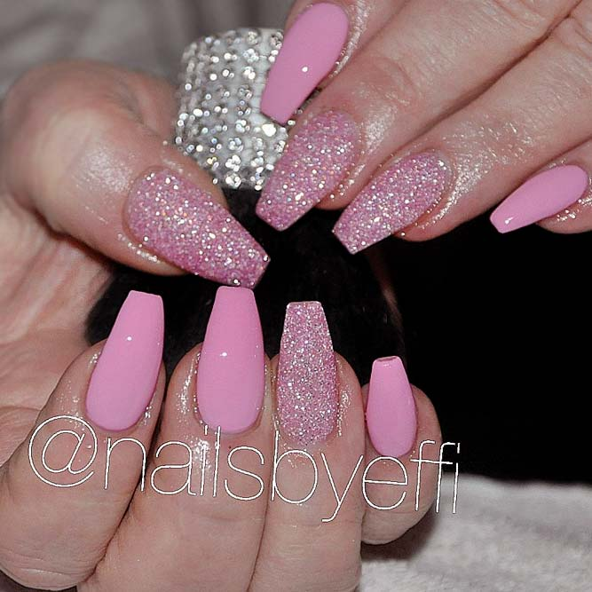 Cute Pink Nails for Elegant Women picture 1